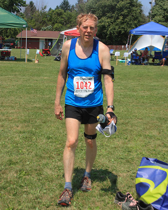 Steve at run sm